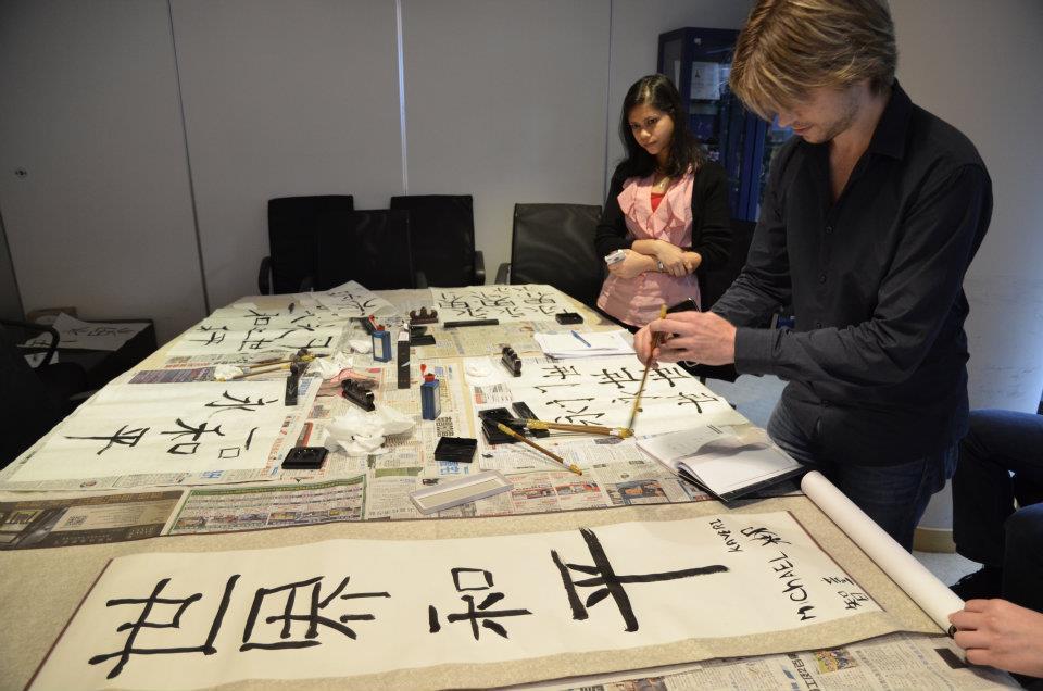 Hong kong celebrity mandarin school learn chinese
